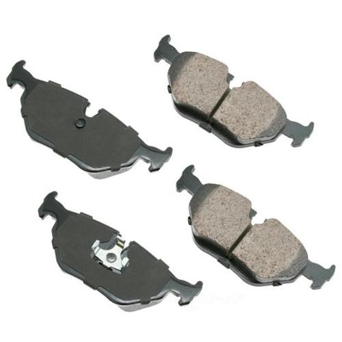 AKEBONO - Euro Ultra Premium Ceramic Pads (Rear) - AKB EUR396A