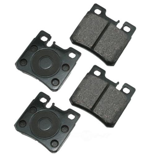 AKEBONO - Euro Ultra Premium Ceramic Pads (Rear) - AKB EUR495