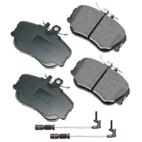 AKEBONO - Euro Ultra Premium Ceramic Pads (Front) - AKB EUR645