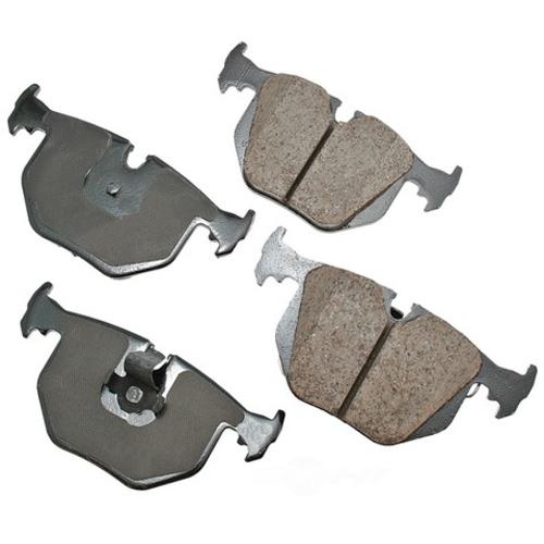 AKEBONO - Euro Ultra Premium Ceramic Pads (Rear) - AKB EUR683