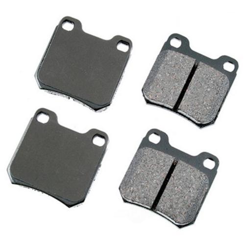 AKEBONO - Euro Ultra Premium Ceramic Pads (Rear) - AKB EUR709