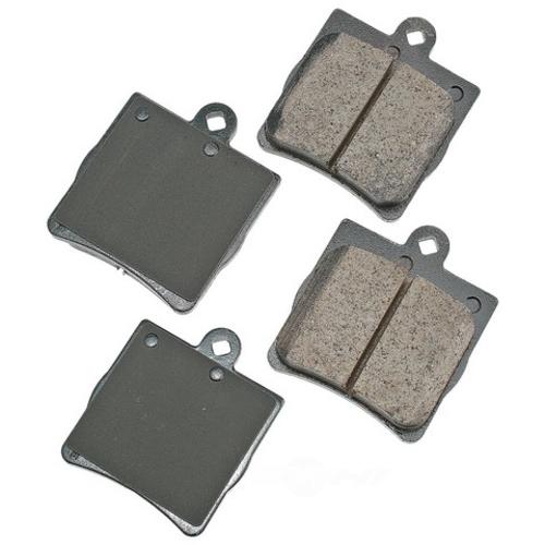 AKEBONO - Euro Ultra Premium Ceramic Pads (Rear) - AKB EUR779