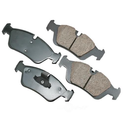 AKEBONO - Euro Ultra Premium Ceramic Pads (Front) - AKB EUR781