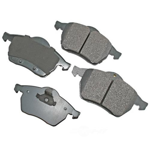 AKEBONO - Euro Ultra Premium Ceramic Pads - AKB EUR800