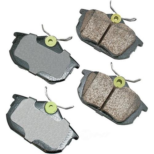 AKEBONO - Euro Ultra Premium Ceramic Pads (Rear) - AKB EUR838