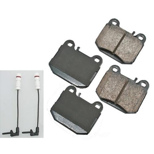 AKEBONO - Euro Ultra Premium Ceramic Pads (Rear) - AKB EUR874