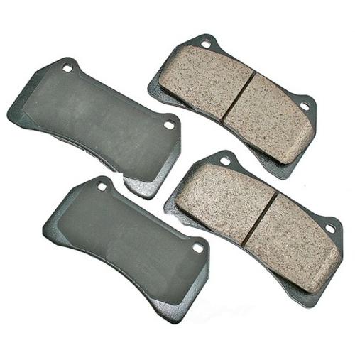 AKEBONO - Euro Ultra Premium Ceramic Pads (Front) - AKB EUR938