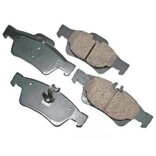 AKEBONO - Euro Ultra Premium Ceramic Pads (Rear) - AKB EUR986