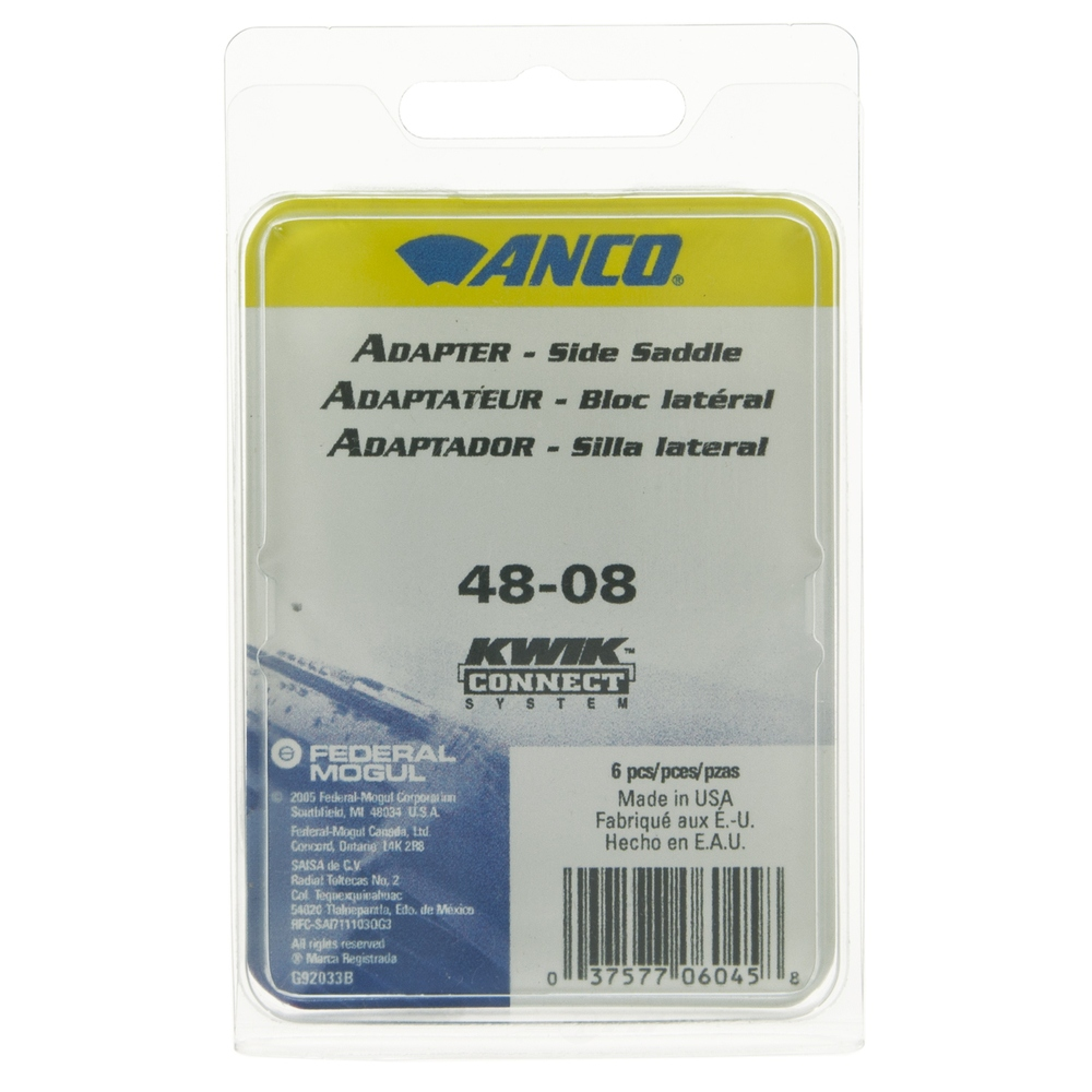 ANCO WIPER PRODUCTS - Windshield Wiper Blade Adapter - ANC 48-08
