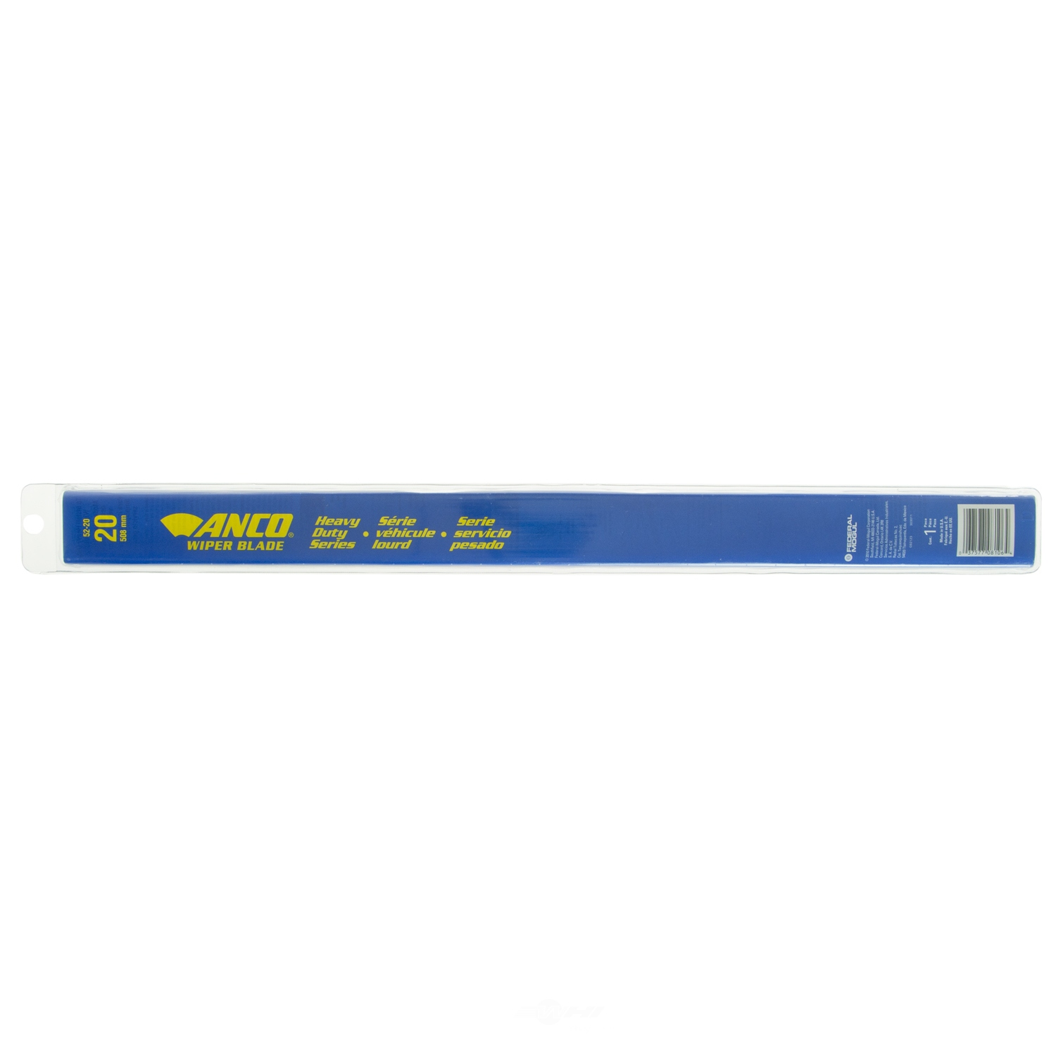 ANCO WIPER PRODUCTS - Clear-Flex Wiper Blade (Front) - ANC 52-20