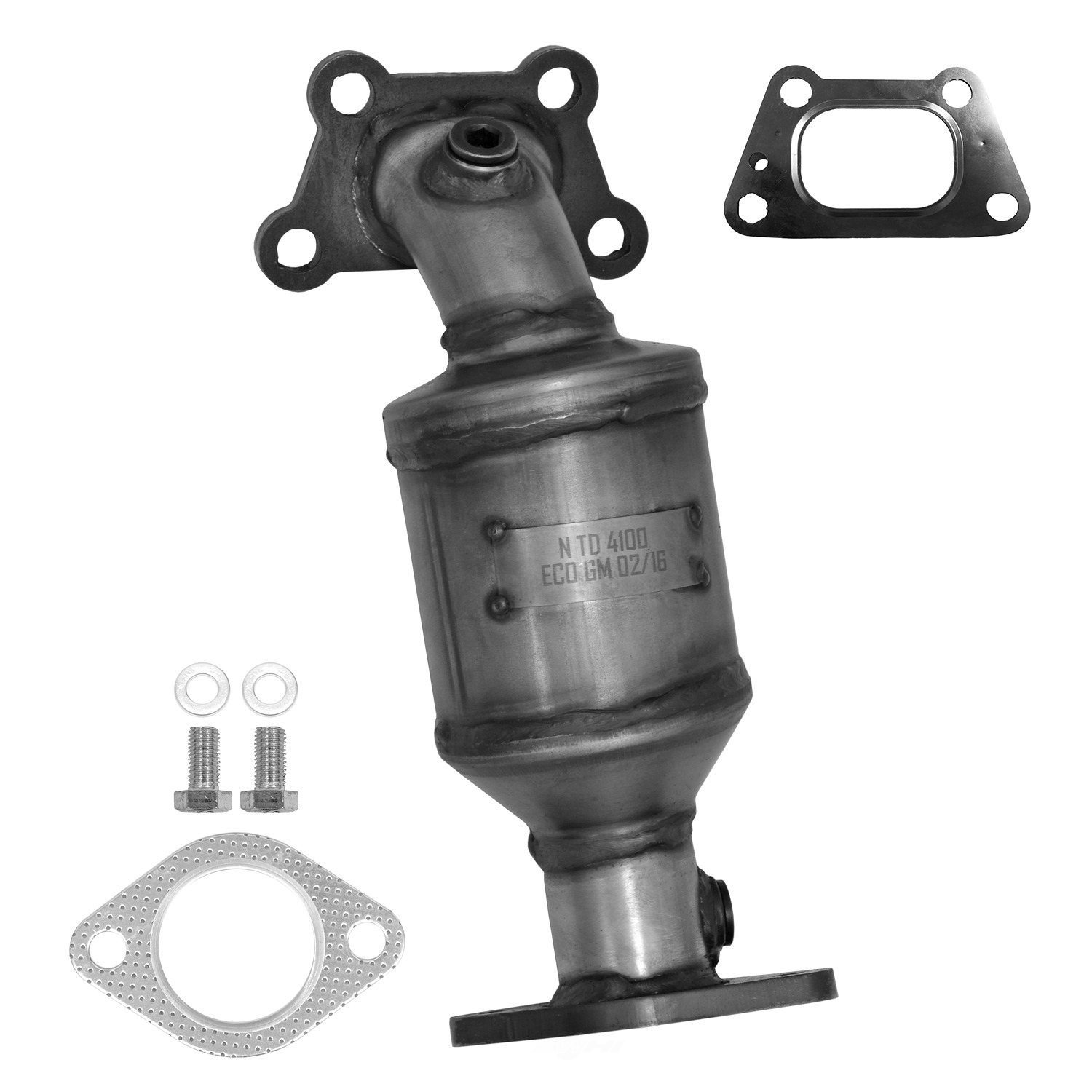 AP EXHAUST W/FEDERAL CONVERTER - Catalytic Converter (Front Right) - APF 641477