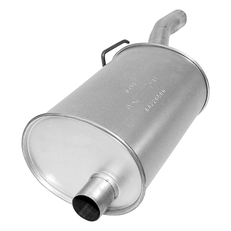 AP EXHAUST W/O FEDERAL CONVERTER - Exhaust Muffler (Right) - APK 2520