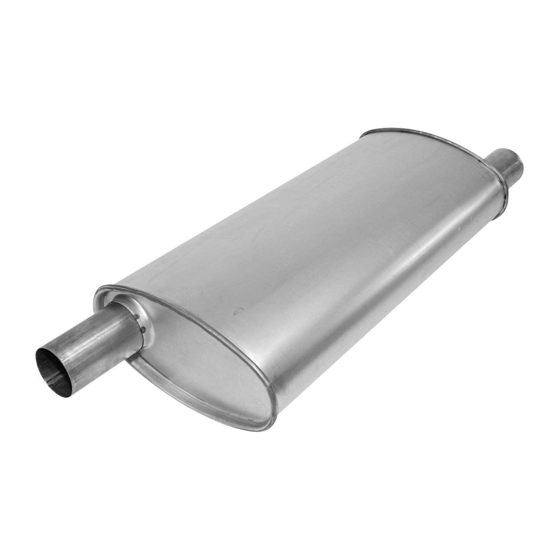 AP EXHAUST W/O FEDERAL CONVERTER - Exhaust Muffler - APK 3757