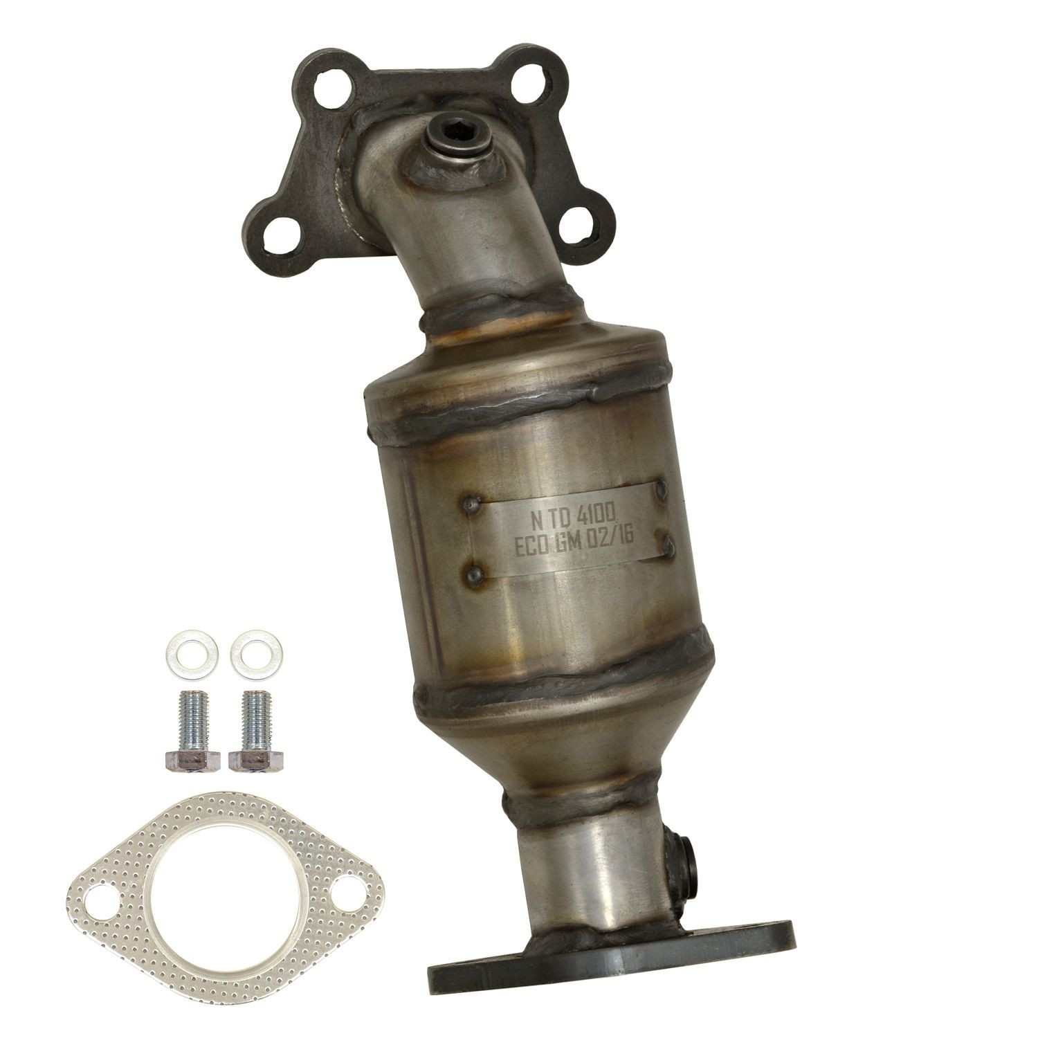 AP EXHAUST W/O FEDERAL CONVERTER - Catalytic Converter (Front Right) - APK 641477
