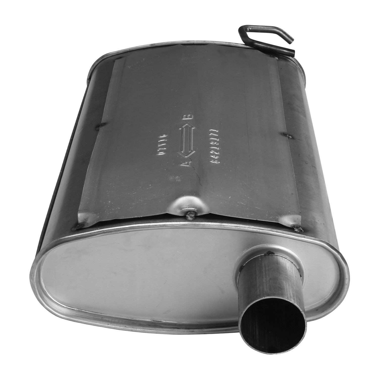 AP EXHAUST W/O FEDERAL CONVERTER - Exhaust Muffler - APK 700036