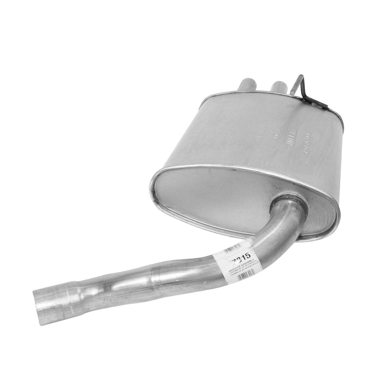 AP EXHAUST W/O FEDERAL CONVERTER - Exhaust Muffler Assembly - APK 7315