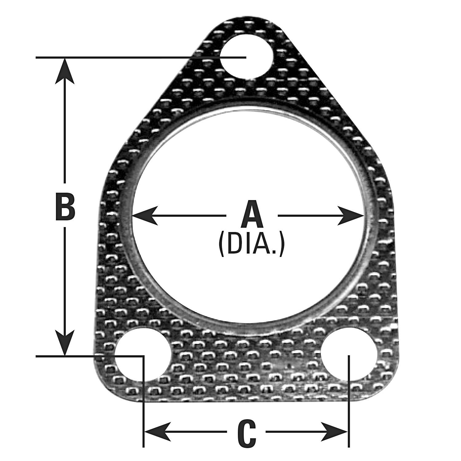 AP EXHAUST W/O FEDERAL CONVERTER - Exhaust Pipe Flange Gasket - APK 8701
