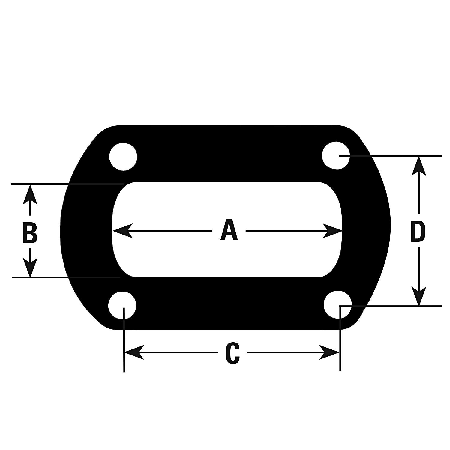 AP EXHAUST W/O FEDERAL CONVERTER - Exhaust Pipe Flange Gasket - APK 9245