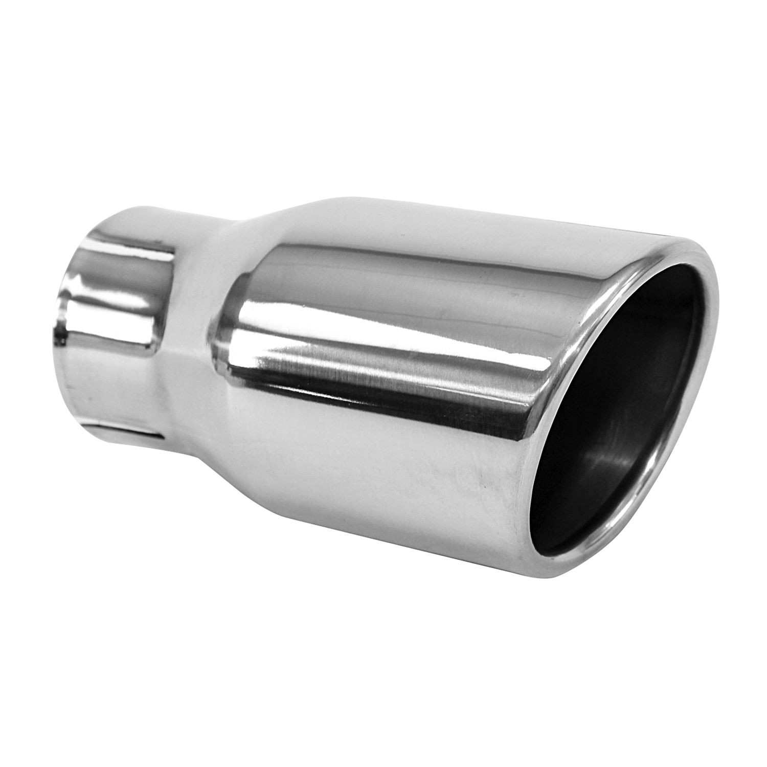AP EXHAUST W/O FEDERAL CONVERTER - Exhaust Tail Pipe Tip - APK ST1254S