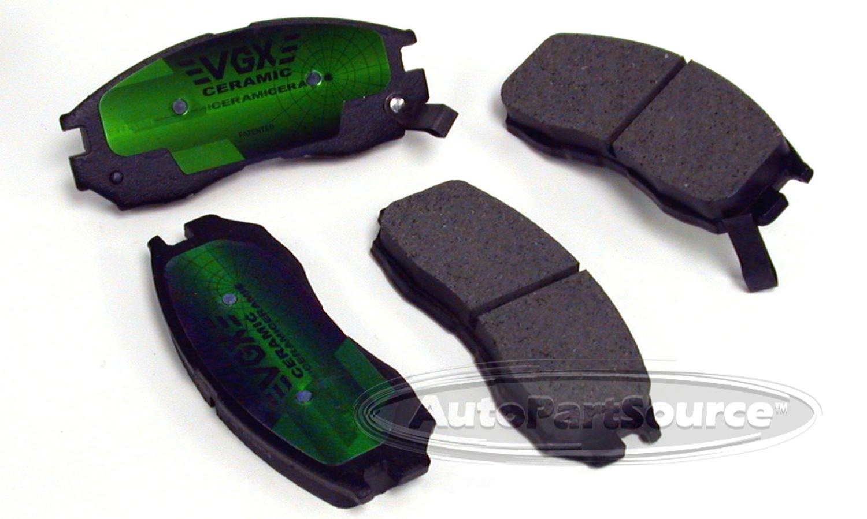 AUTOPARTSOURCE - Ceramic Pads - APS CE484