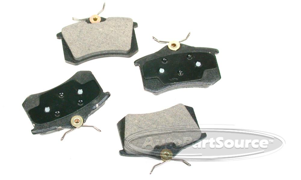 AUTOPARTSOURCE - Semi-Metallic Pads - APS MF340