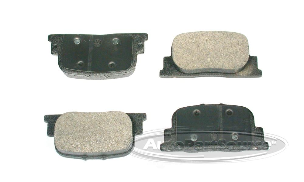 AUTOPARTSOURCE - Semi-Metallic Pads - APS MF835