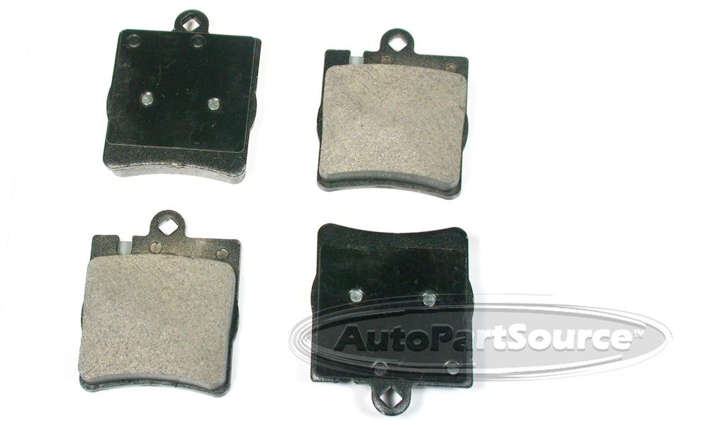 AUTOPARTSOURCE - Semi-Metallic Pads - APS MF876