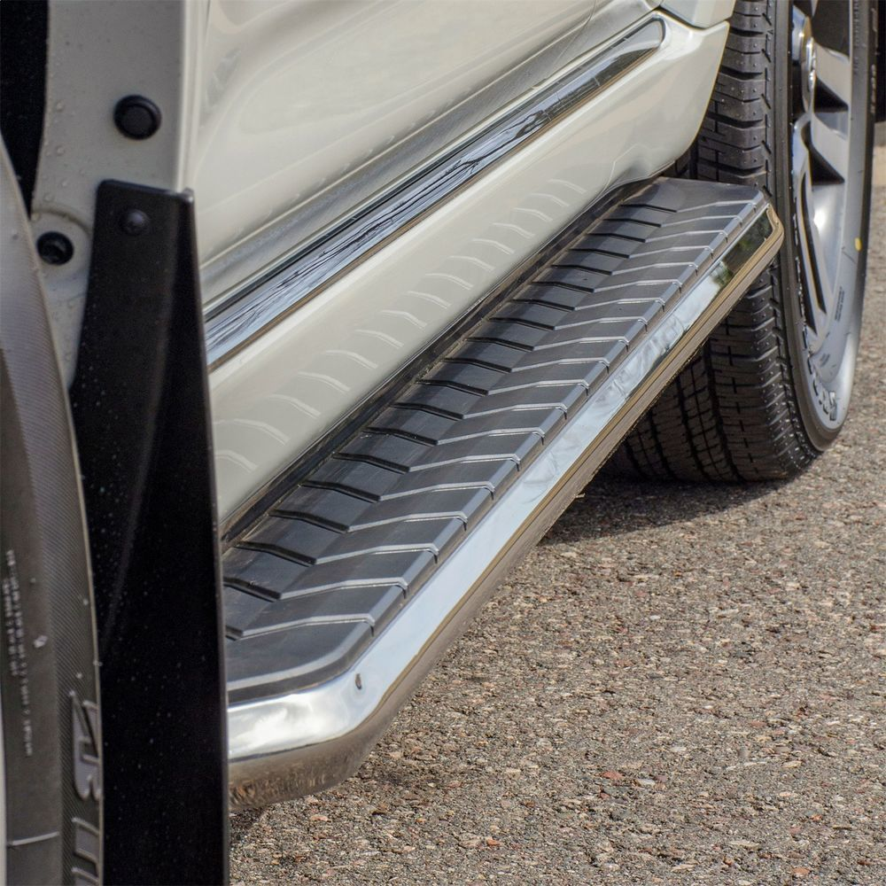 ARIES - Aerotread Running Boards w/Mounting Brackets - AR2 2051019