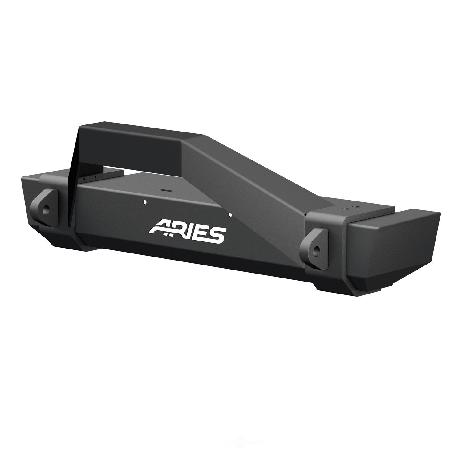ARIES - Trailcrusher Front Bumper W/brush Guard (Front) - AR2 2186001