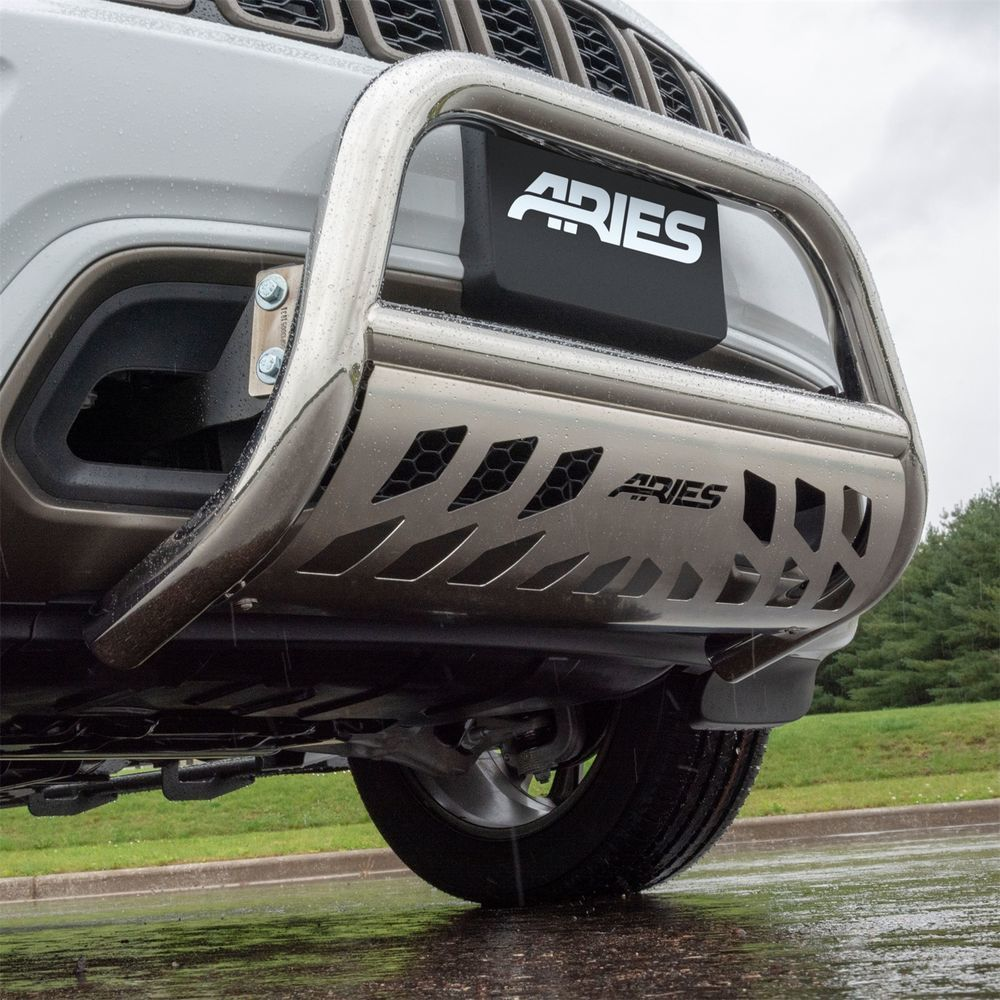 ARIES - Aries Bull Bar Bumper Guard (Front) - AR2 35-9002