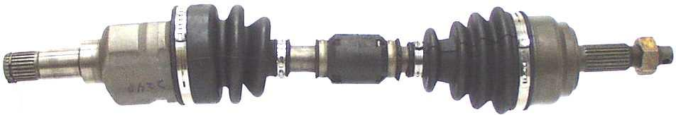 ARC REMANUFACTURING INC. - CV Joint Half Shaft (Front Left) - ARC 80-2248