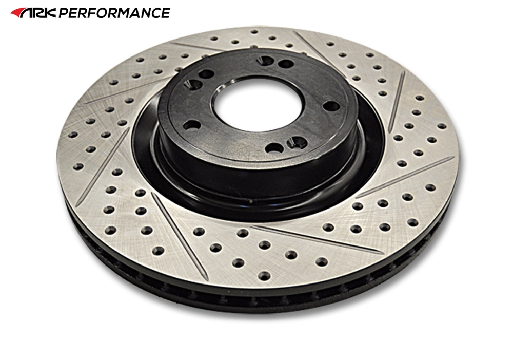 ARK PERFORMANCE - Front Drilled & Slotted Rotors - ARK BR0800-100F
