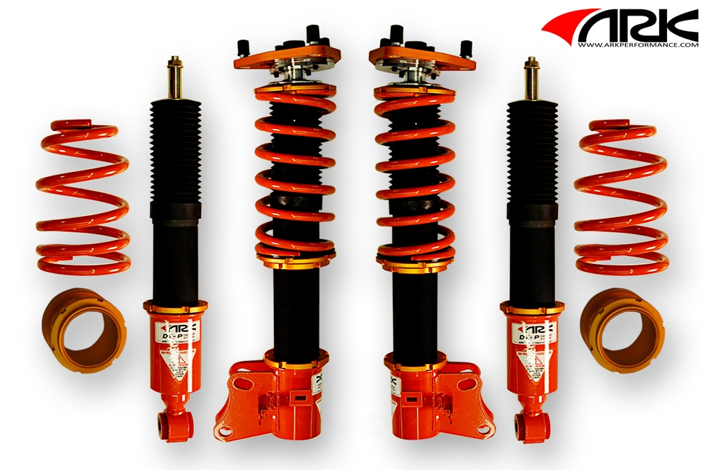 ARK PERFORMANCE - DT-P Coilover Systems Spring Rate(kg/mm): Front: 12 Rear: 7 - ARK CD0602-0600