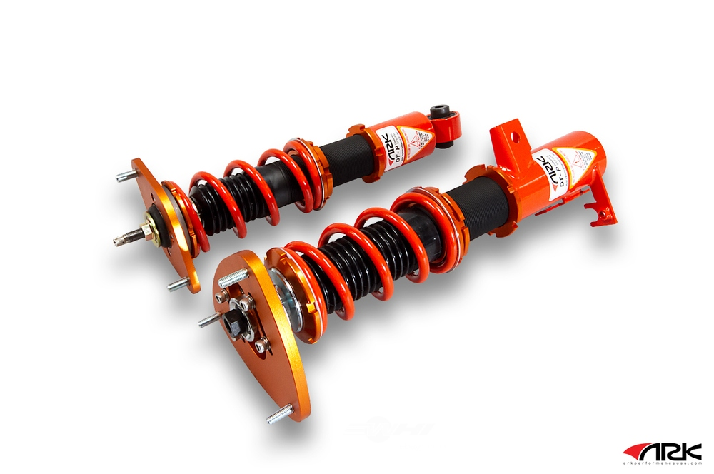 ARK PERFORMANCE - DT-P Coilover Systems Spring Rate(kg/mm): Front: 6 Rear: 6 - ARK CD1202-0113