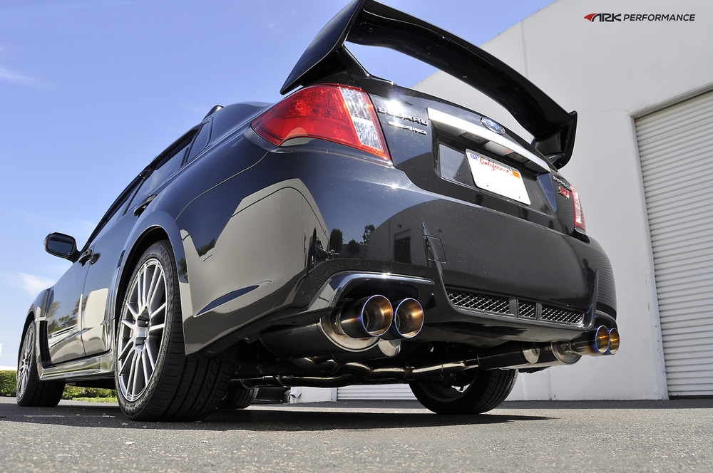 ARK PERFORMANCE - Single Tip - Dual Exit Exhaust System - ARK SM1202-0113D