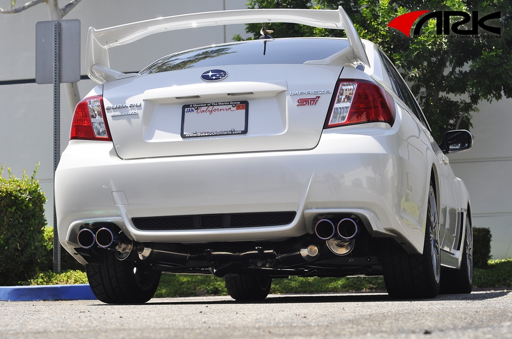ARK PERFORMANCE - Single Tip - Dual Exit Exhaust System - ARK SM1202-0113G