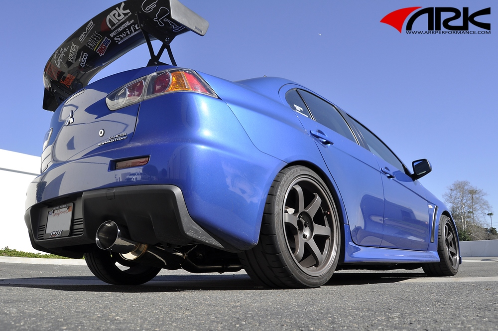 ARK PERFORMANCE - Single Tip - Single Exit Exhaust System - ARK SM1300-0001N
