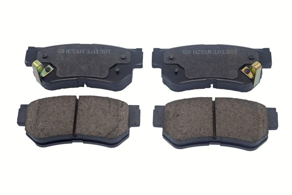 AUTO 7 - Disc Brake Pad (Rear) - ASN 120-0130