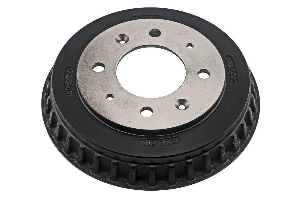 AUTO 7 - Brake Drum (Rear) - ASN 124-0043