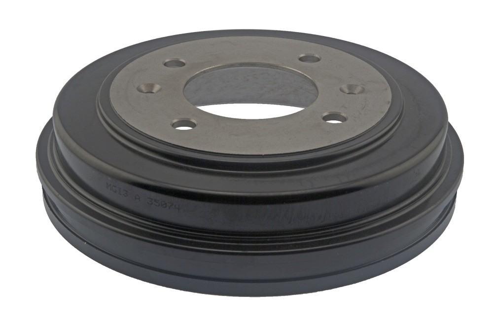 AUTO 7 - Brake Drum (Rear) - ASN 124-0045