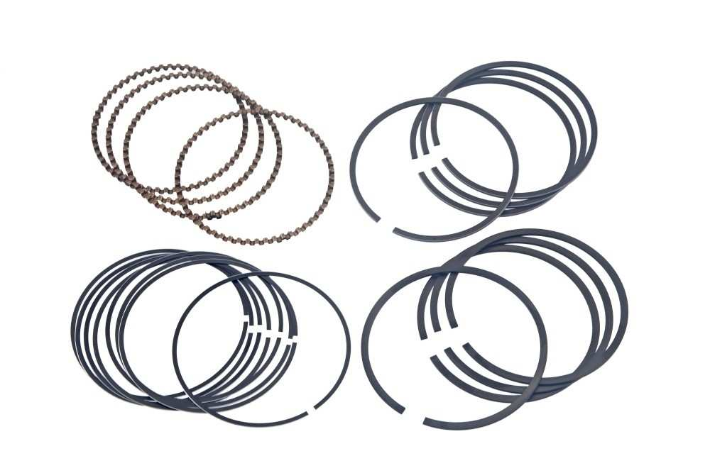 AUTO 7 - Engine Piston Ring Set - ASN 610-0159