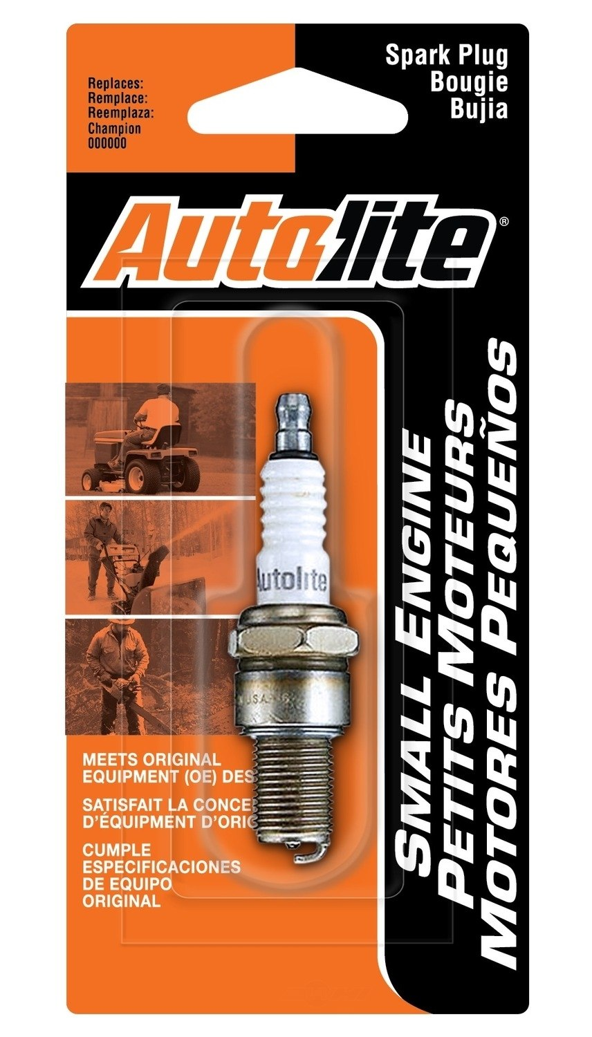 AUTOLITE - Copper Non-Resistor Spark Plug - Display Pack - ATL 295DP