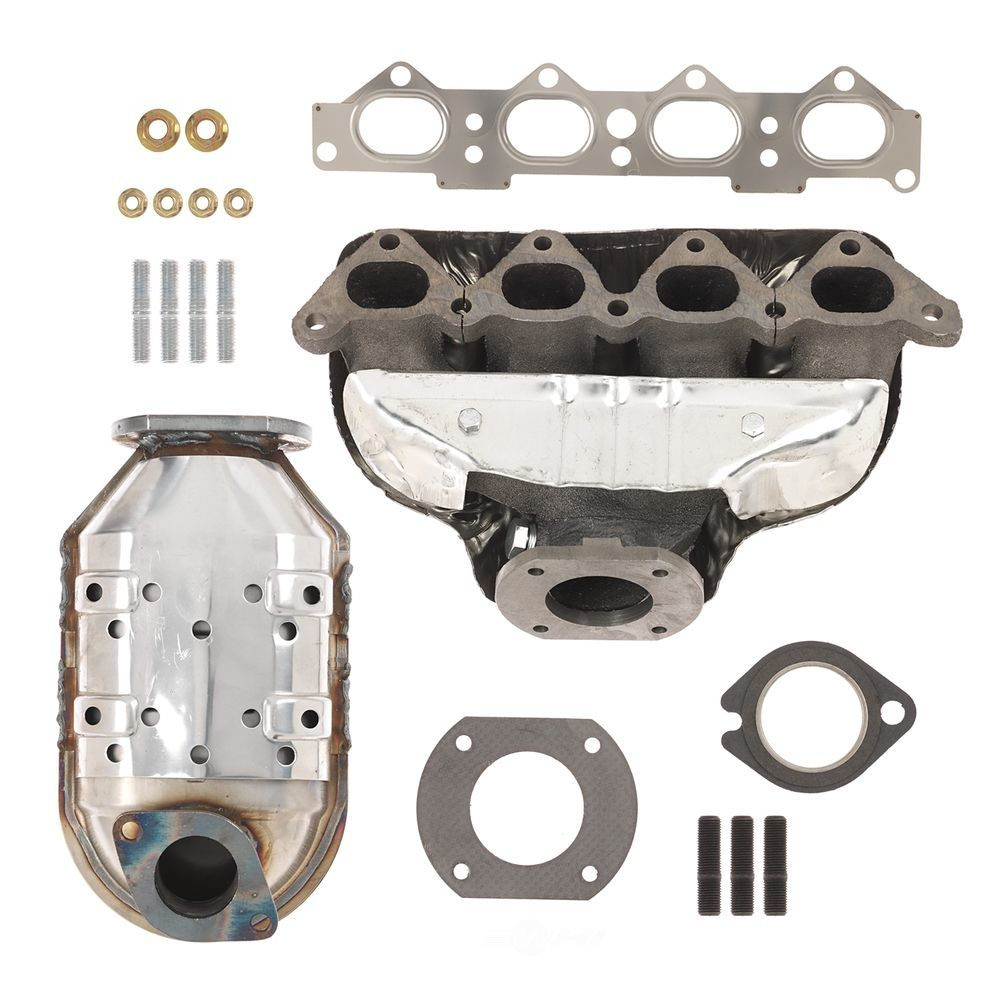 ATP - Catalytic Converter with Integrated Exhaust Manifold - ATP 101307