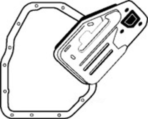 ATP - Premium Replacement Auto Trans Filter Kit - ATP B-181