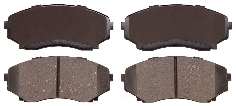 ADVICS - OE Disc Brake Pad Set (Front) - AVC AD0551