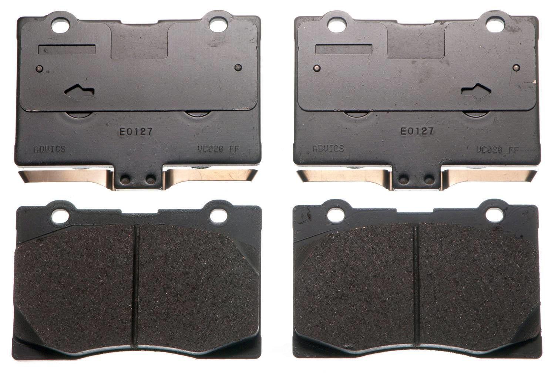 ADVICS - OE Ultra-Premium Ceramic Formulation Disc Brake Pad - AVC AD1091