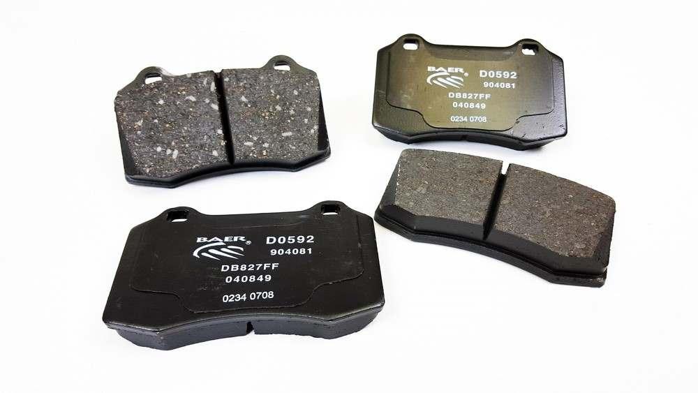BAER BRAKE SYSTEMS - Baer Sport Pads - B1F D0592