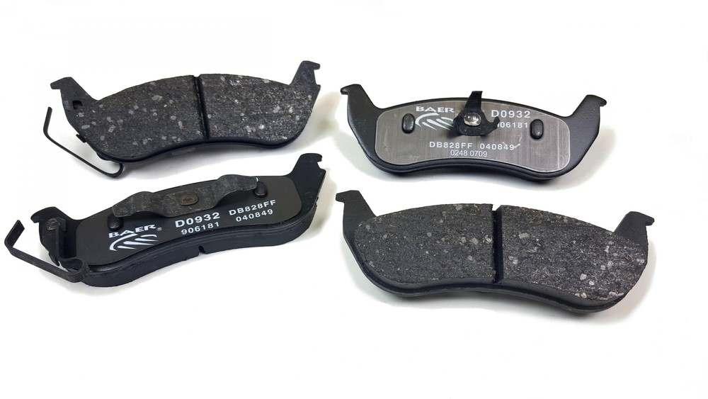 BAER BRAKE SYSTEMS - Baer Sport Pads - B1F D0932