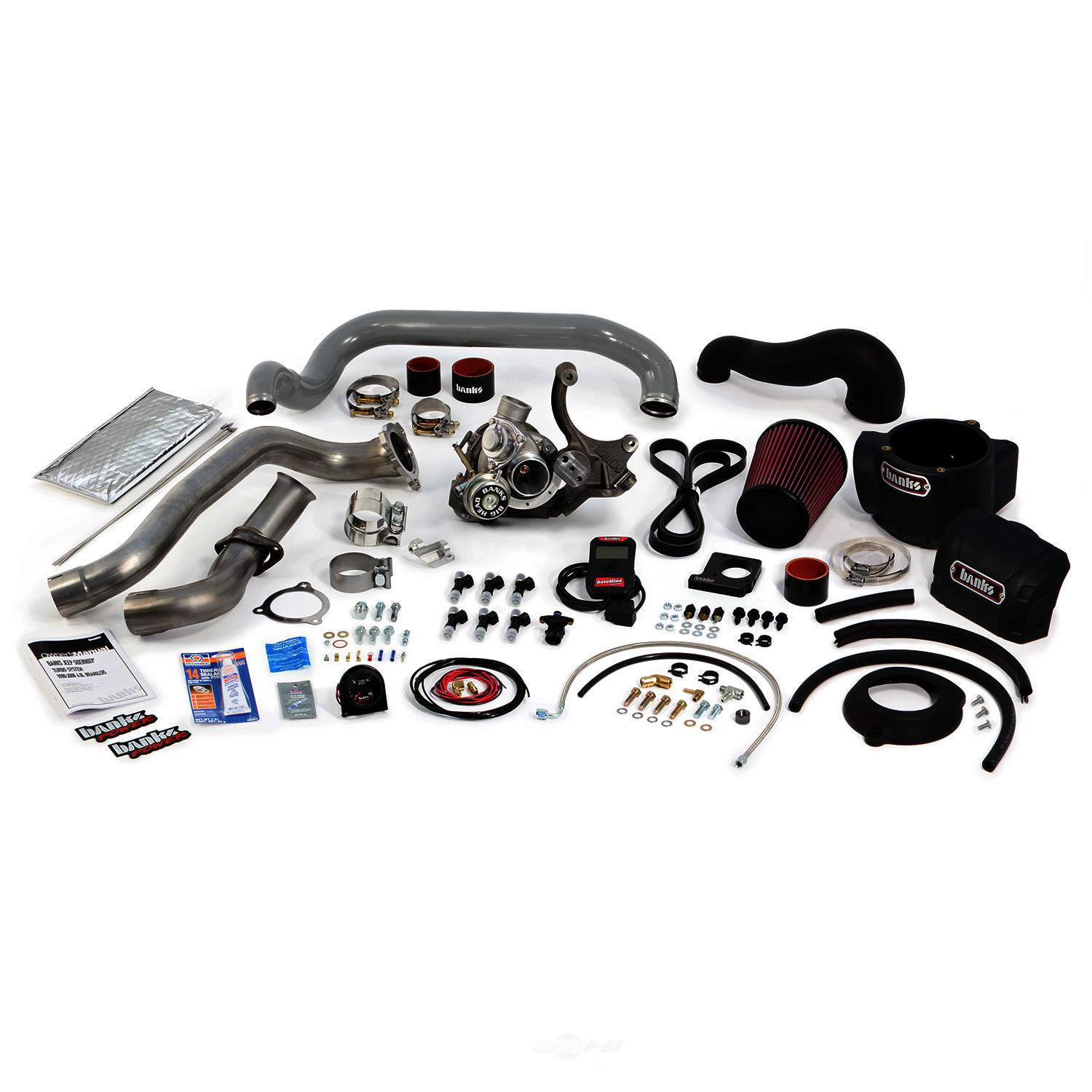 BANKS POWER - Sidewinder Turbo System - Non-Intercooled - w/ AutoMind Handheld Program - B1T 24240