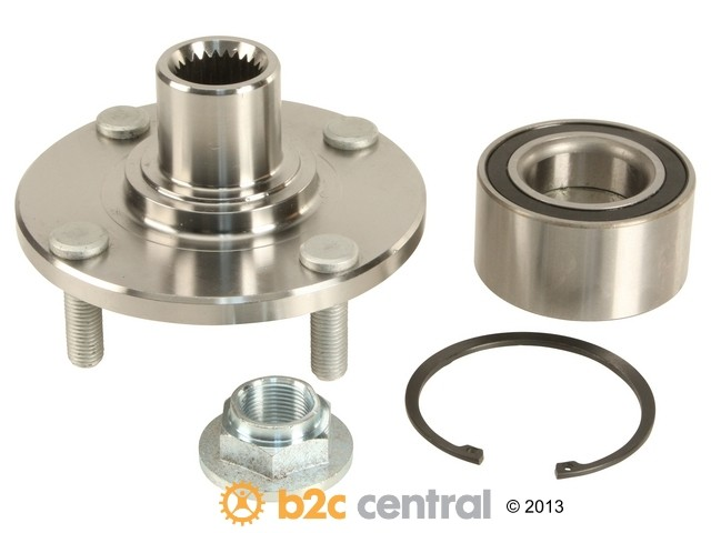 FBS - First Equipment Quality Wheel Hub Assembly Includes Bearing (Front) - B2C W0133-1794630-FEQ